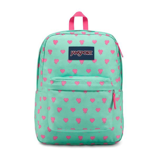 Mochila Superbreak Jansport Cascade Bleeding Hearts