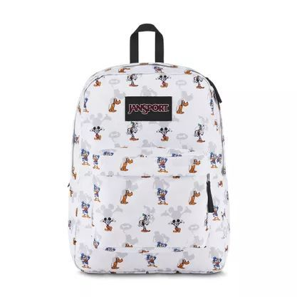 Mochila Superbreak Jansport Disney Fab Shadow White