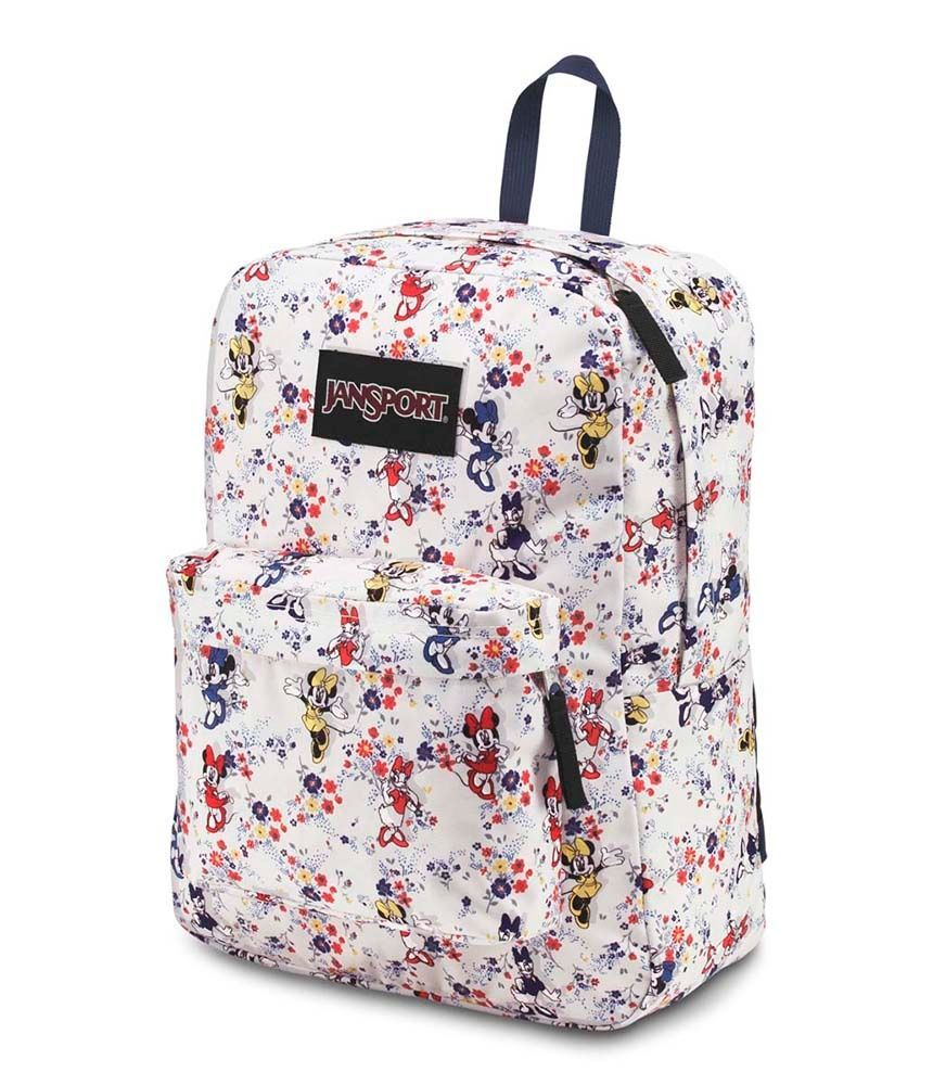 Mochila Superbreak Jansport Disney Minnie Tiny Floral