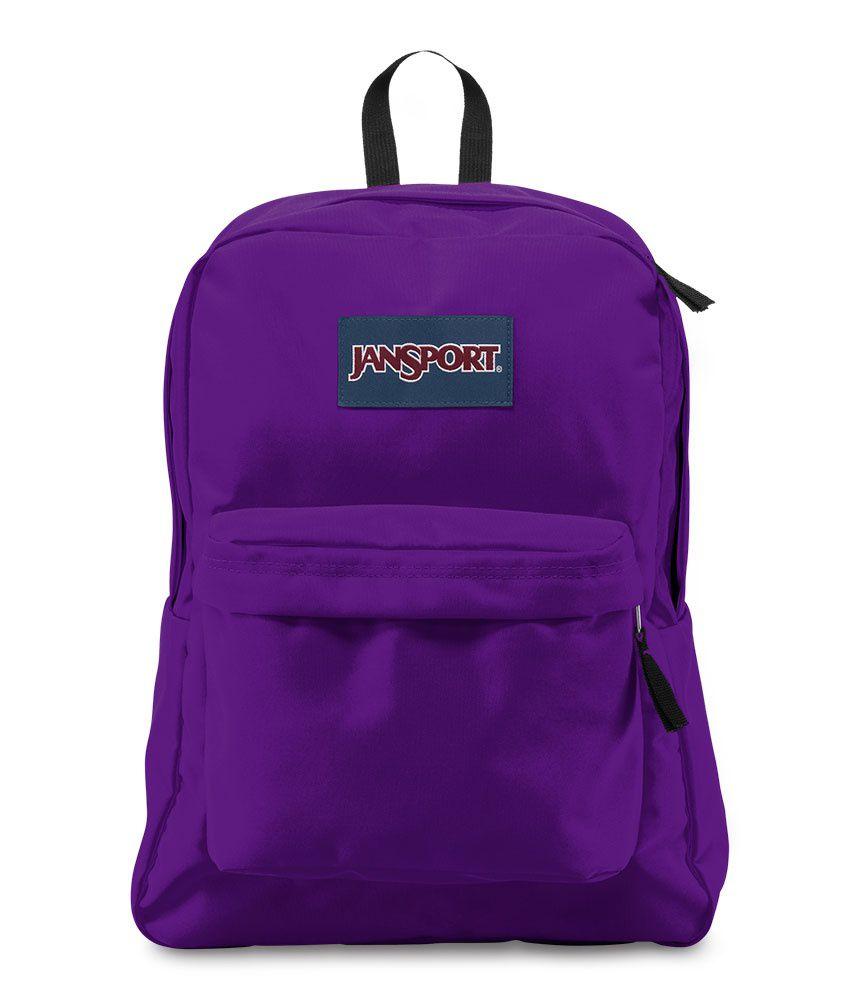 Mochila Superbreak Jansport Roxa Signature Purple