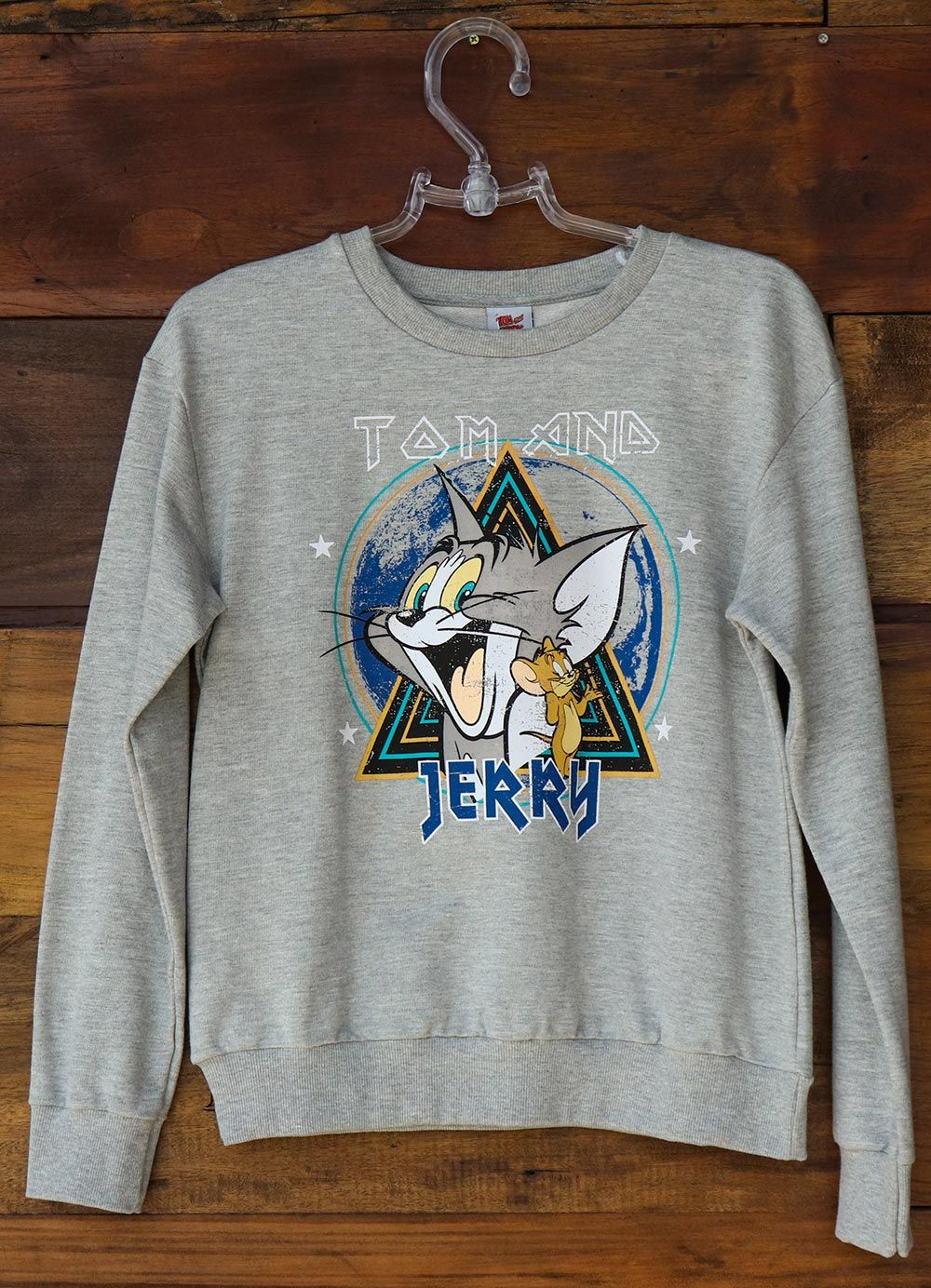 Moletom Feminino Estampa Tom and Jerry