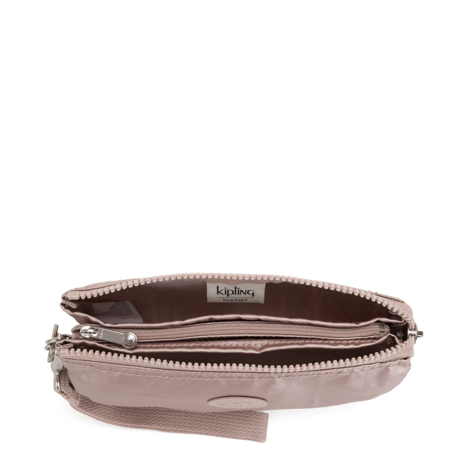 Necessaire Creativity Xl Kipling Metallic Rose