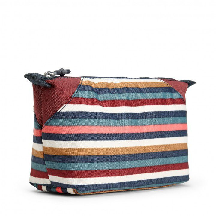 Necessaire Grande Art Pouch Multi Stripes
