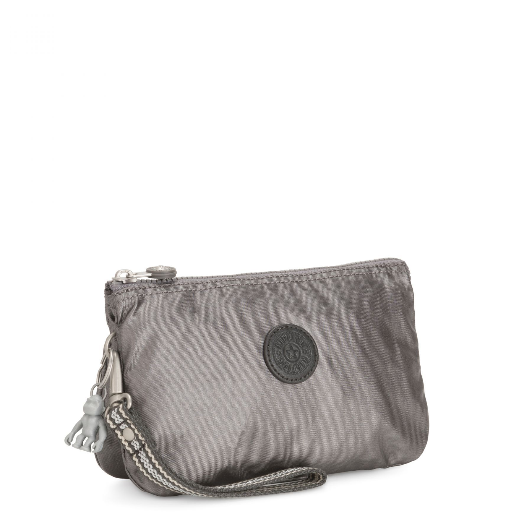 Necessaire Kipling Creativity XL Carbon Metallic