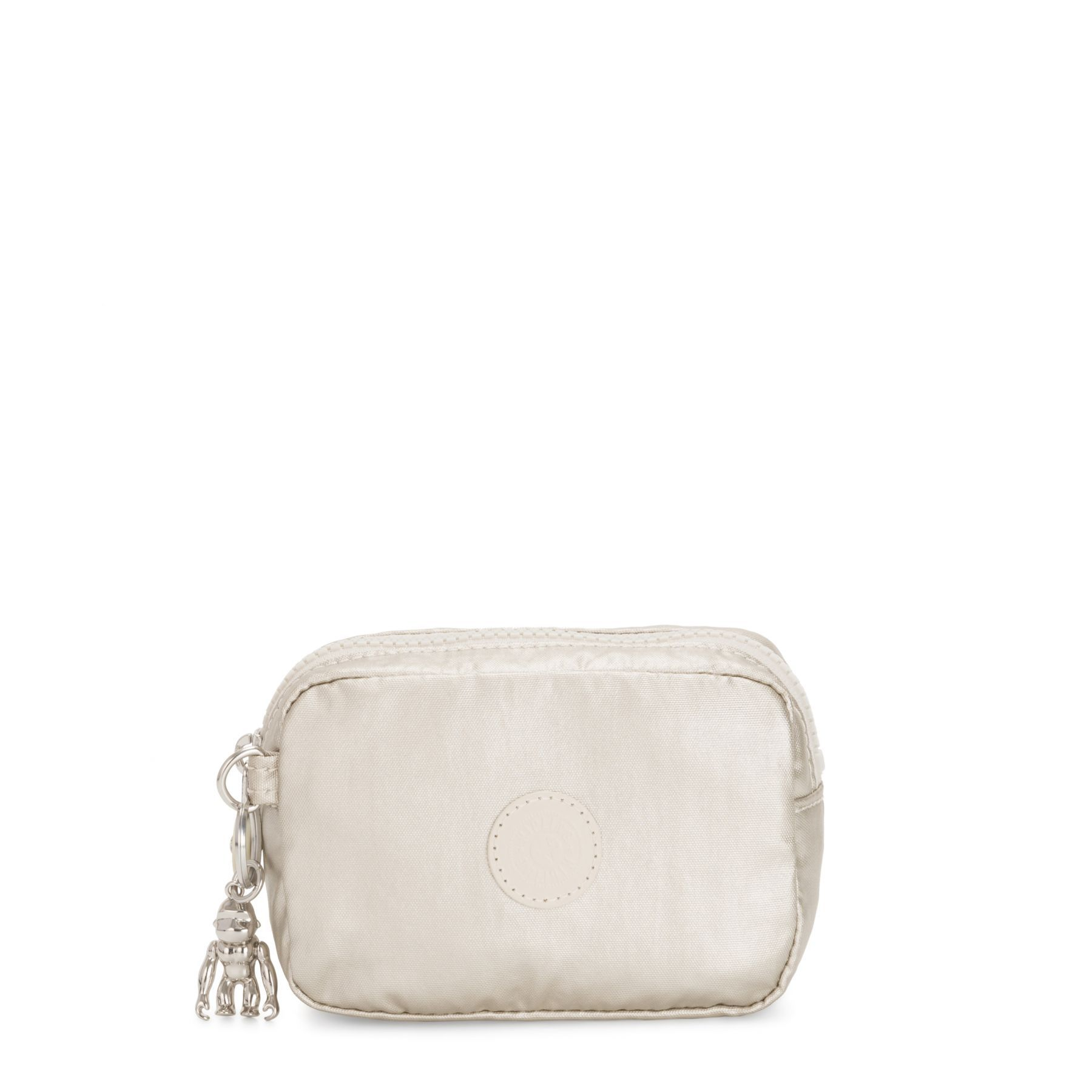 Necessaire Média Gleam Kipling Cloud Metal