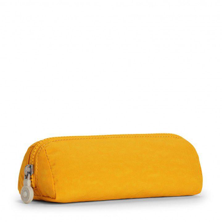 Necessaire Pequena Brush Pouch Kipling Amarelo