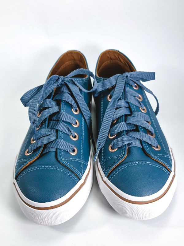 Tênis Feminino Likes Class Capricho Azul