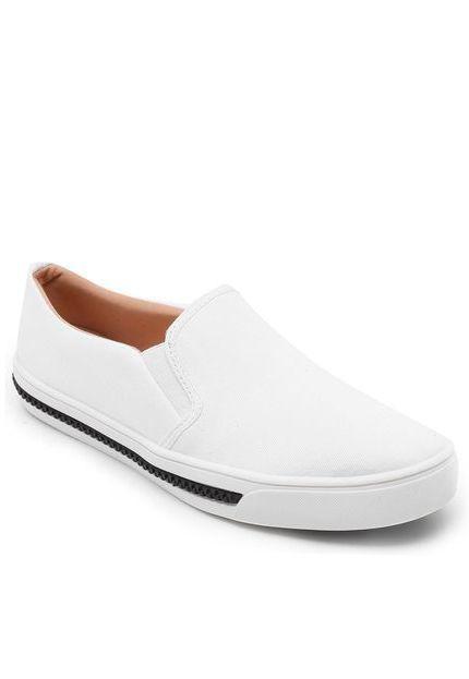 Tênis Kipling Iate Sarja Branco 60326