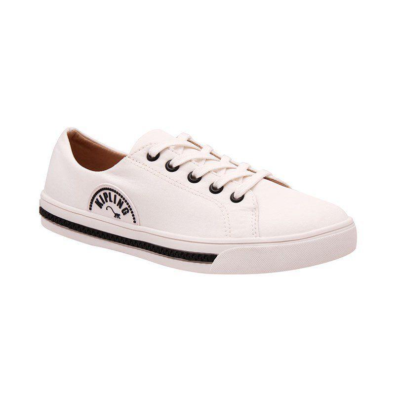 Tênis Kipling Nylon branco 60378