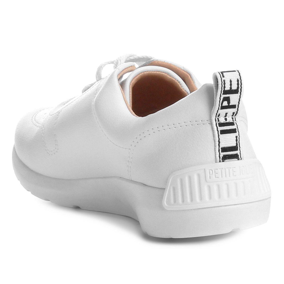 Tênis Petite Jolie Basic Branco Pj3001