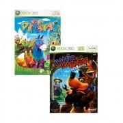 Banjo Kazooie Nuts & Bolts + Viva Piñata - Xbox 360 - USADO
