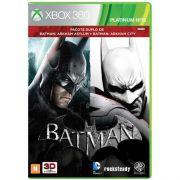 Batman Arkham Asylum + Batman Arkham City - Xbox 360