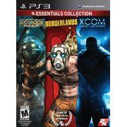 Bioshock + Borderlands + Xcom ( Essentials Collection ) - PS3