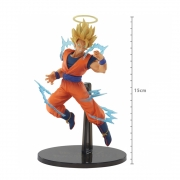 Boneco Action Figure Dragon Ball Z - Goku Super Saiyajin 2 - Dokkan Battle Collab Angel - 20356