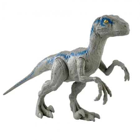 Boneco Jurassic World Dinossauro Velociraptor Blue Dino Value - Mattel - FNY41 - Mattel