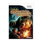 Cabelas Dangerous Hunts 2011 - Wii - USADO