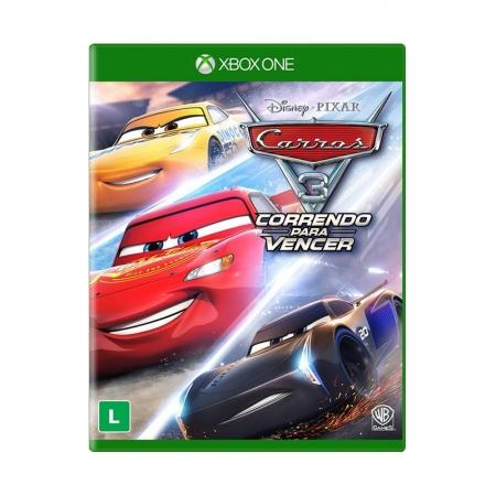 Carros 3 Correndo Para Vencer - Xbox One