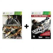 Combo Ace Combat Assault Horizon + Sniper Elite V2 - Xbox 360