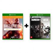 Combo Battlefield 1 Revolution + Tom Clancys Rainbow Six Siege - Xbox One