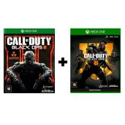 Combo Call of Duty Black Ops 3 + Call of Duty Black Ops 4 - Xbox One