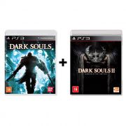 Combo Dark Souls 1 + Dark Souls 2 Scholar of the First Sin - PS3