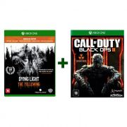 Combo Dying Light Edição Completa + Call of Duty Black Ops 3 - Xbox One