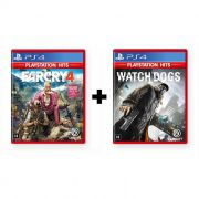 Combo Far Cry 4 + Watch Dogs - PS4