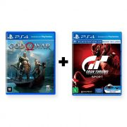 Combo God of War + Gran Turismo Sport - PS4