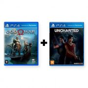 Combo God of War + Uncharted The Lost Legacy - PS4
