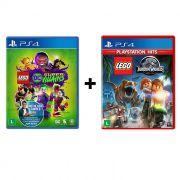 Combo Lego DC Super Villains + Lego Jurassic World - PS4