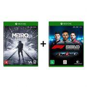 Combo Metro Exodus + F1 2018 Formula 1 18 - Xbox One