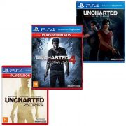 Combo Uncharted - PS4 - Todos os Jogos