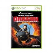 Como Treinar Seu Dragão - Xbox 360 - USADO