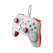 Controle Nintendo Switch Mario White ( Branco ) - PowerA Com Fio