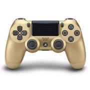 Controle Dourado ( C/ Led Frontal ) - PS4