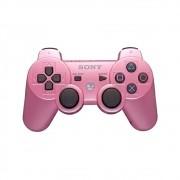 Controle Ps3 Rosa - Dualshock 3 Pink - Original Sony Sem Fio