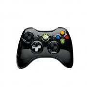 Controle Xbox 360 Preto Cromado Com D-pad - USADO