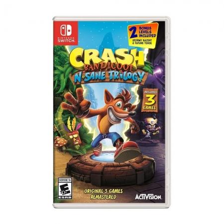 Crash Bandicoot N Sane Trilogy - Nintendo Switch