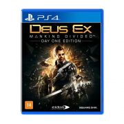 Deus Ex Mankind Divided Edição Day One - PS4