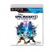 Disney Mickey 2 The power of Two - PS3 - USADO