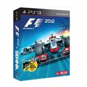 F1 2012 + Filme Senna - PS3 - USADO