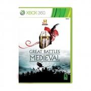 Great Batlles Medieval - Xbox 360 - USADO