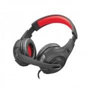 Headset Gamer GXT 307 RAVU PRETO/VERMELHO Com Fio - PS4/PS5/Switch/Xbox Series X|S/PC - TRUST