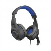 Headset Gamer GXT 307B RAVU AZUL Com Fio - PS4/PS5/Switch/Xbox Series X|S/PC - TRUST