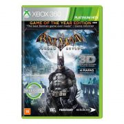 Jogo Batman Arkham Asylum Goty - Xbox 360