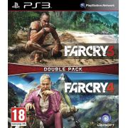 Jogo Far Cry 3 + Far Cry 4 Double Pack - PS3
