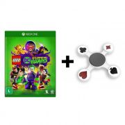 Combo Lego DC Super Villains + Fidget Hand Spinner Naipes  - Xbox One