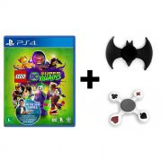 Combo Lego DC Super Villains + Hand Spinner Batman + Naipes  - PS4