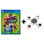 Combo Jogo Lego DC Super Villains + Hand Spinner Naipes  - PS4