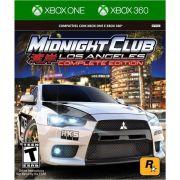 Jogo Midnight Club Los Angeles Complete Edition - Xbox 360 / Xbox One